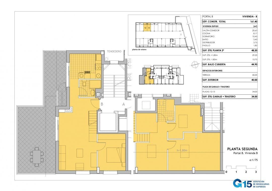 Portal B Segundo B Duplex Inmobiliaria Elizalde