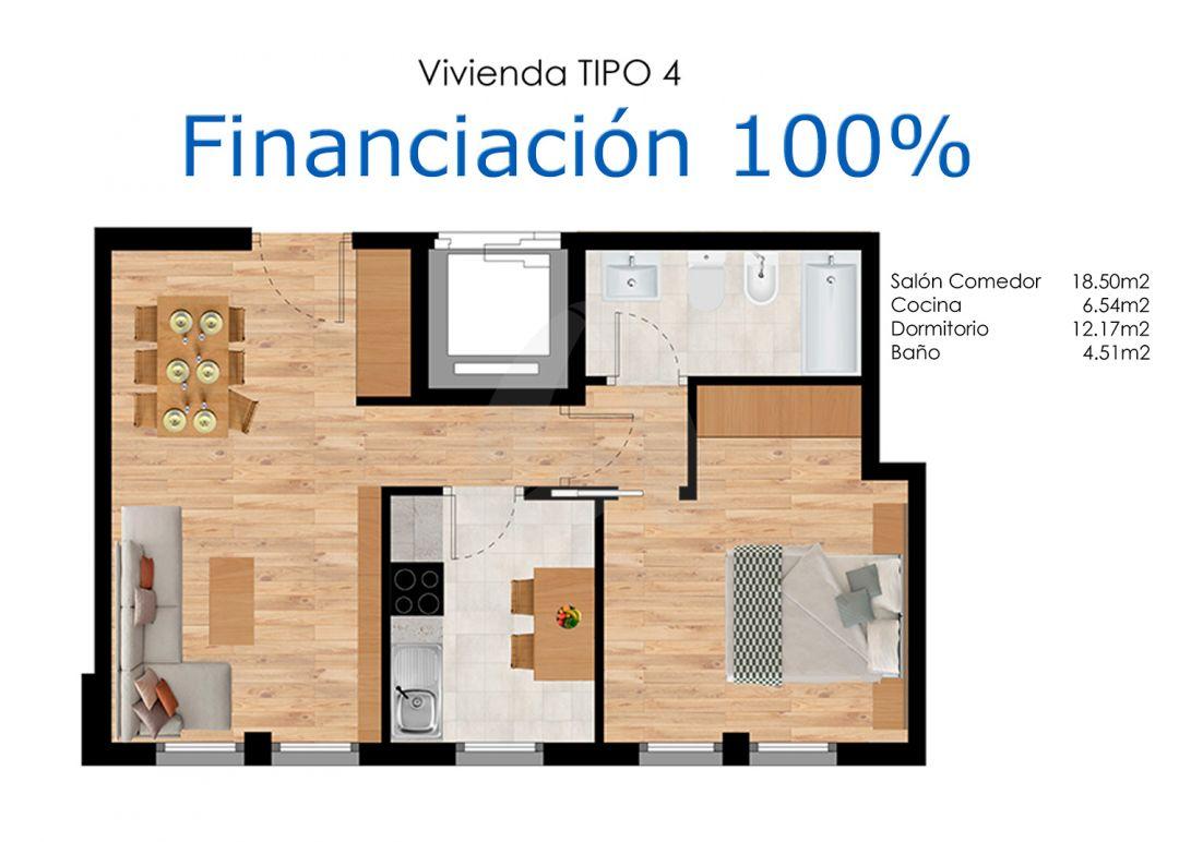 Estudio en construcción en Agoncillo – Financiación 100%