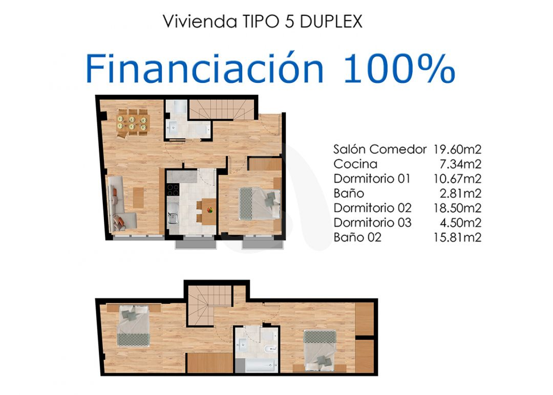 Pisos dúplex en construcción en Agoncillo – Financiación 100%