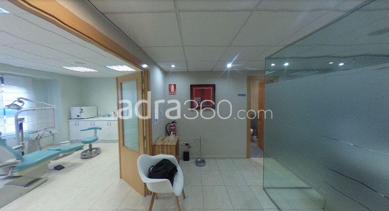 Piso en venta en centro de Logroño – Distribuído como oficina