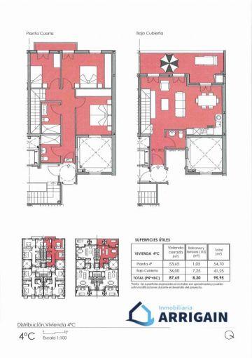 Centro venta Duplex Nueva construcción con terraza